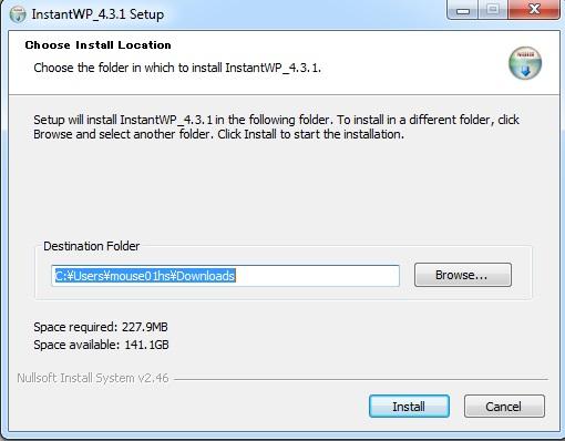04 installing instant wordpress