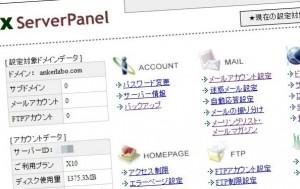 screen shot of xserver
