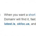 ドメインハックに御用達! ドメイン検索は、Domai.nrを使おう!