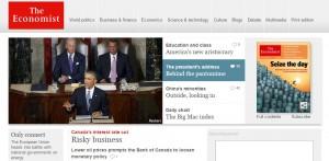 The Economistの公式WEB